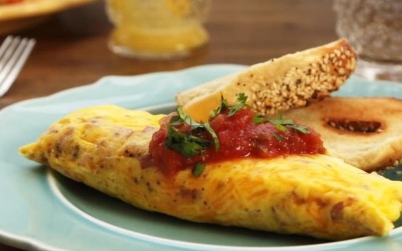 Recette omelette en sachet pas chère et simple > cuisine étudiant