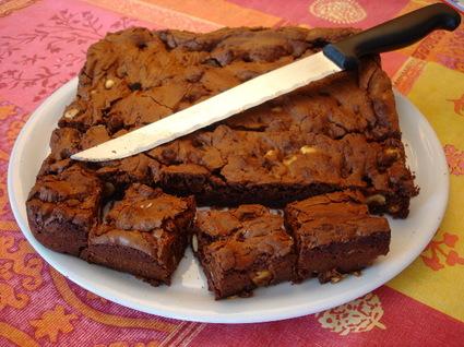 Recette de brownie aux noisettes