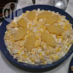 Recette salade de poulet et à l'ananas – toutes les recettes allrecipes