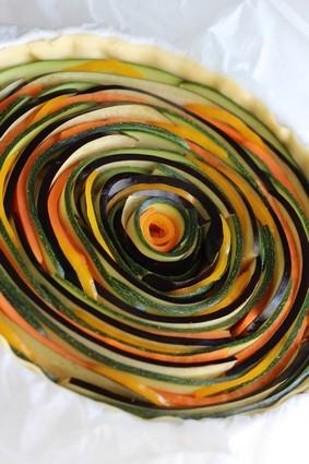 Recette de tarte spirale aux légumes