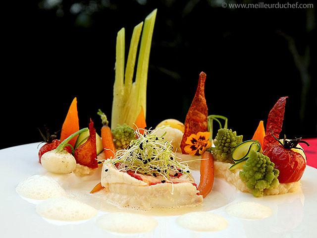 Roulade de sole farcie à la mousseline de saumon et ses petits ...