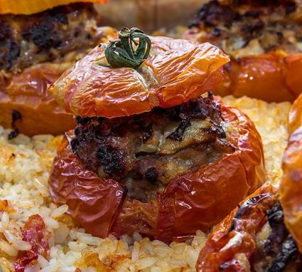 Recette de tomates farcies rapides