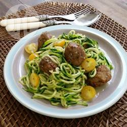Recette spaghettis de courgettes – toutes les recettes allrecipes