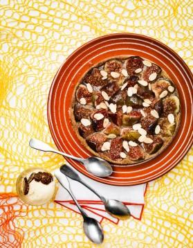 Tarte à la figue et crème d'amandes pour 4 personnes