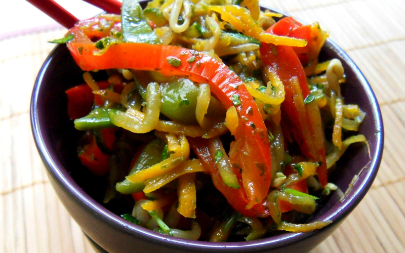 Recette légumes sautés à la sauce soja pas chère et simple ...
