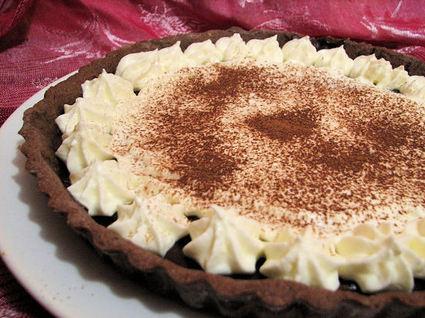 Recette de tarte fondante choco-mascarpone