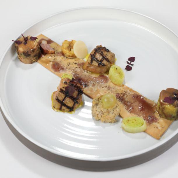 Recette tout autour du foie gras