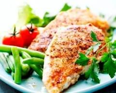 Recette poitrines de poulet marinées
