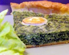 Recette tarte aux épinards et chèvre