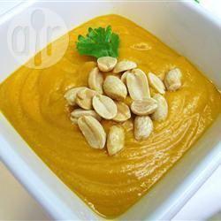 Recette soupe africaine aux patates douces et aux cacahuètes ...