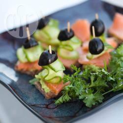 Recette canapés au saumon fumé – toutes les recettes allrecipes