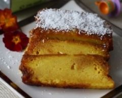 Recette cake flan coco