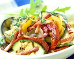 Recette farandole de légumes grillés