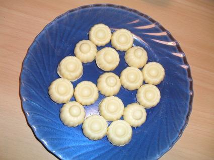 Recette de chocoline (petits chocolats au chocolat blanc)