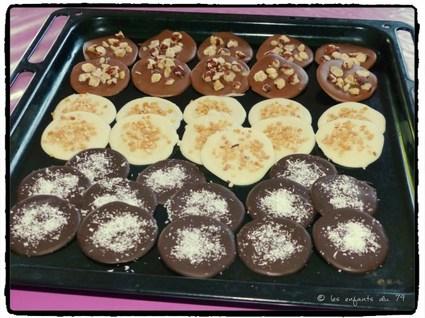 Recette de mendiants chocolat et fruits secs