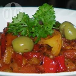 Recette salade de poivrons grillés à la marocaine – toutes les ...