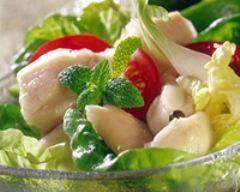 Recette salade de bar à la tahitienne