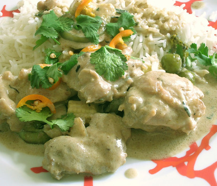 Recette de curry vert de poulet