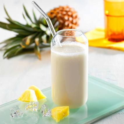 Recette de milkshake ananas-coco