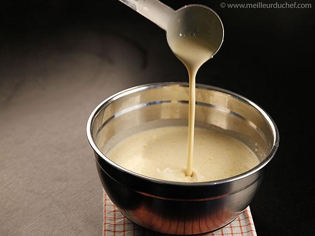 Pâte à crêpes  fiche recette illustrée  meilleurduchef.com
