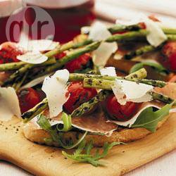 Recette bruschettas parmesanes aux asperges – toutes les ...