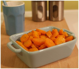 Carottes sautées à l'orange et au gingembre pour 4 personnes ...