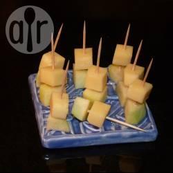 Recette petites brochettes au comté et à la pomme pour l'apéro ...