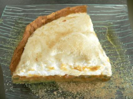 Recette de tarte meringuée à la pomme de terre