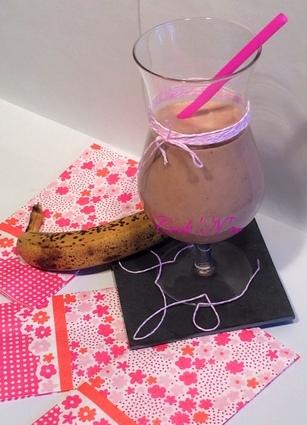 Recette de smoothie banane/choco/coco