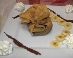 Recette aumônière au nutella et à la banane