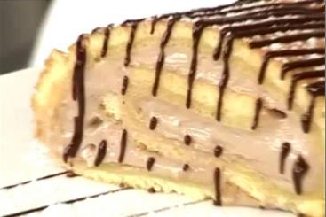 Recette de bûche de noël chocolat praliné facile et rapide