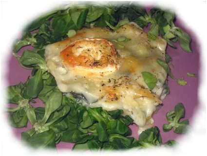 Recette lasagnes aux épinards et chèvre (lasagne)