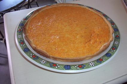 Recette de tarte au potiron et écorces d'oranges confites