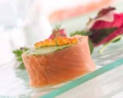Recette rouleau de saumon au naturel à l'avocat
