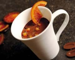 Recette mousse au chocolat aux zestes d'oranges confits
