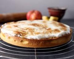 Recette tarte aux pommes meringuée et épicée