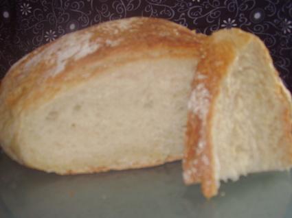 Recette de miche de pain