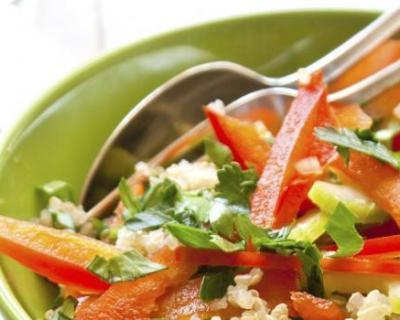 Salade de quinoa aux 2 poivrons et tomates séchées | cuisine az