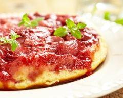 Recette tarte tatin simple aux fraises