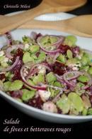 Recette de salade de fèves et betteraves rouges