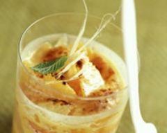 Recette gratin d'agrumes au gingembre