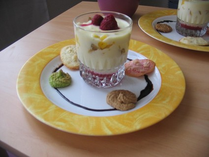 Recette de tiramisu coco aux fruits exotiques