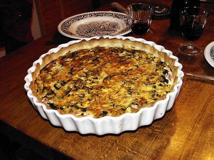 Recette de tarte aux feuilles de blette