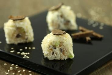 Recette de california maki bar à la truffe noire facile et rapide