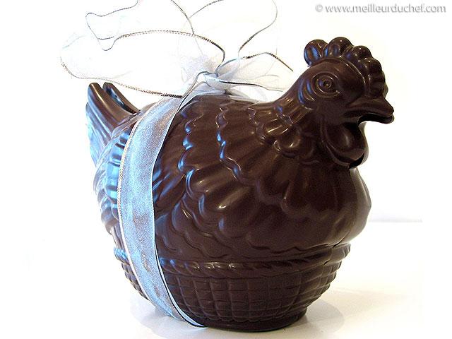 Poule de pâques en chocolat  recette de cuisine avec photos ...