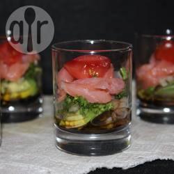 Recette verrines avocat saumon – toutes les recettes allrecipes