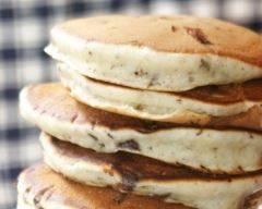 Recette pancakes aériens aux pépites de chocolat