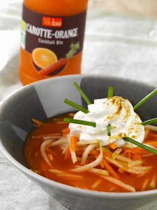 Recette de carotte givrée