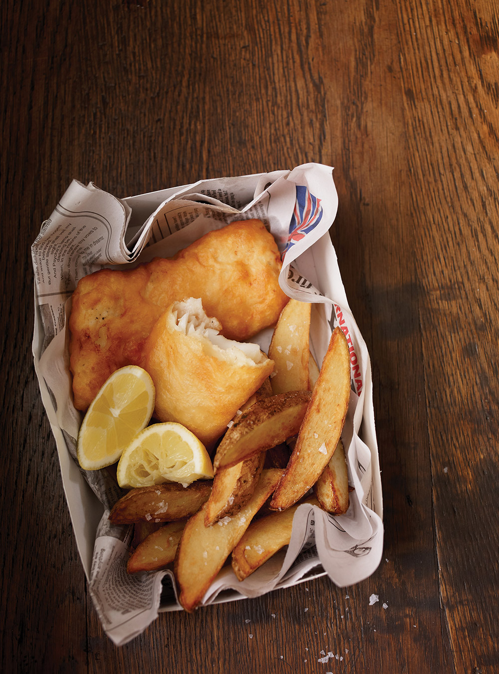 Fish and chips traditionnel | ricardo