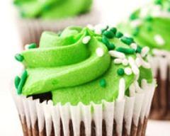 Recette cupcakes au chocolat et crème de pistache